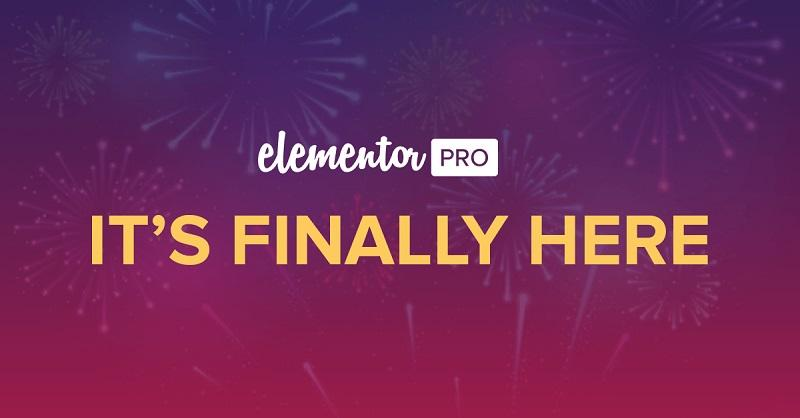 Elementor Pro | Brings New Designs Experiences to Your WordPress